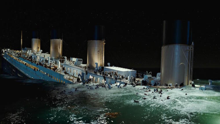Titanic Movie VFX