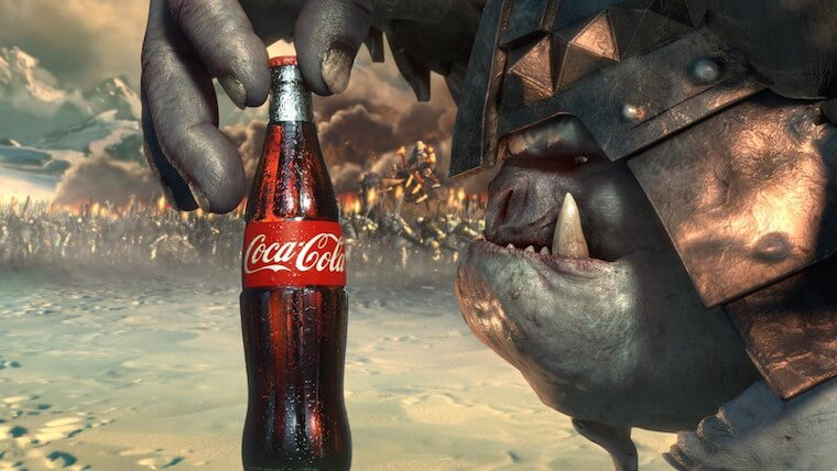 VFX for Coca cola, Srushti VFX